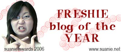 Freshie Blog of the Year
