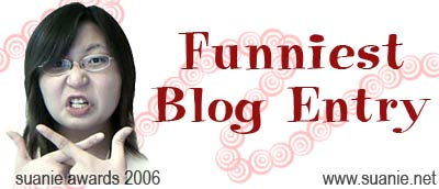 Funniest Blog Entry